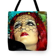 Mona In Mourning Tote Bag