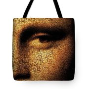Mona Lisa Eyes 3 Tote Bag