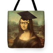 Mona Lisa  Graduation Day Tote Bag