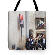 Mona Lisa, Louvre Museum, Paris Tote Bag