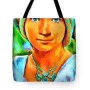 Mona Lisa Young - Da Tote Bag