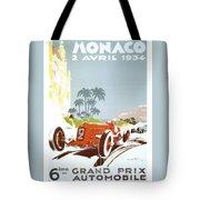 Monaco 6 Grand Prix 1934 Tote Bag