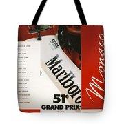Monaco F1 1993 Tote Bag