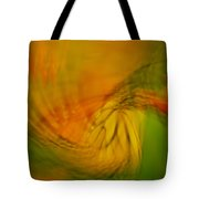 Monarch Abstract Tote Bag