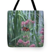 Monarch And Pink Tote Bag
