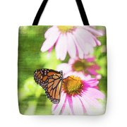 Monarch Butterfly Art Tote Bag
