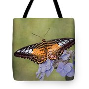 Clipper Butterfly Tote Bag