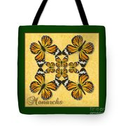 Monarch Butterfly Pin Wheel Tote Bag
