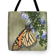 Monarch Butterfly Textured Background Tote Bag
