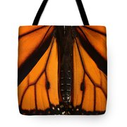 Monarch Butterfly Wings Tote Bag