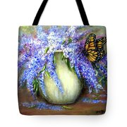 Monarch Of The Lilacs Tote Bag