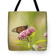 Monarch On Swamp Milkweed 2014-1 Tote Bag