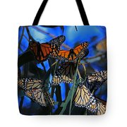 Monarchs In Paradise Tote Bag