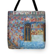 Monastery Angels Tote Bag