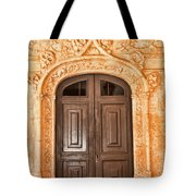 Monastery Of Jeronimos Door Tote Bag