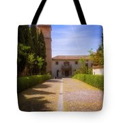 Monastery Of Saint Jerome Approach Tote Bag