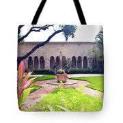 Monastery Of St. Bernard De Clairvaux Garden Tote Bag