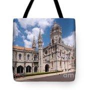 Monastery Of The Hieronymites Lisbon 5 Tote Bag