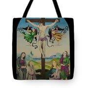 Mond Crucifixion Tote Bag
