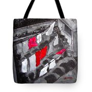 Monday We Do The Sheets - Urban Roof Top Tote Bag