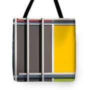 Mondrian Style Tote Bag