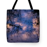 Monet On The Water Tote Bag