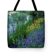 Monet's Lily Pond Tote Bag