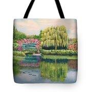 Monet's Summer Garden No.2 Tote Bag
