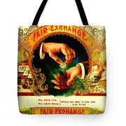Money Cigar Label Tote Bag