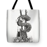 Money Monument Tote Bag by James Williamson