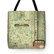 Money Restrooms Tote Bag