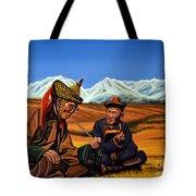 Mongolia Land Of The Eternal Blue Sky Tote Bag
