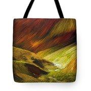 Mongolian Landscape Tote Bag