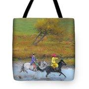 Mongolian Rider Tote Bag