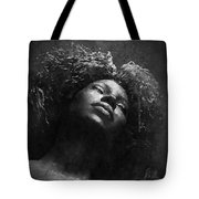 Monique I Bw Tote Bag