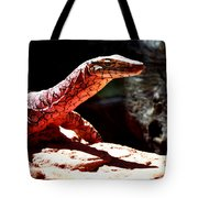 Monitor Lizard Tote Bag
