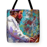 Monk Live Tote Bag