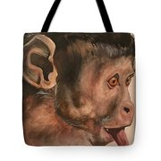 Monkey Face Tote Bag