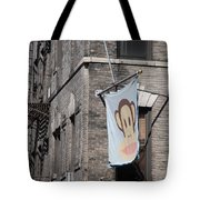 Monkey Flag Tote Bag by Rob Hans