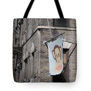 Monkey Flag Tote Bag