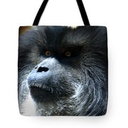 Monkey Stare Tote Bag