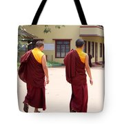 Monks Tote Bag