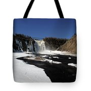 Montmorency Fall, Winter Tote Bag