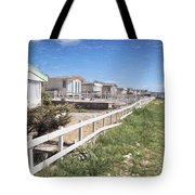 Monmouth Beach - Impressions Tote Bag
