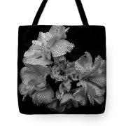 Mono Flower Chrome Tote Bag