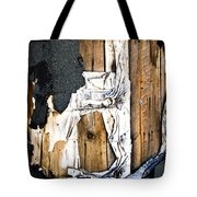 Mono Hut Wall Tote Bag