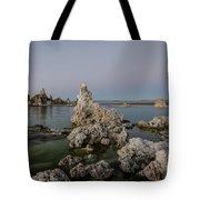 Mono Lake At Dusk Tote Bag by Margaret Pitcher