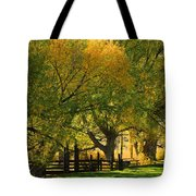 Mono Lake Fall In The Mountains Tote Bag