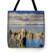 Mono Lake Spires Tote Bag