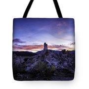 Mono Lake Sunset 4 Tote Bag
